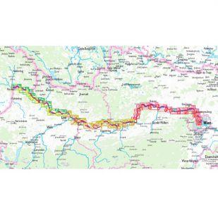 Donau Fietspad Nederlands Bikeline Fietsgids