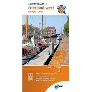 ANWB Regiokaart 6 Friesland west
