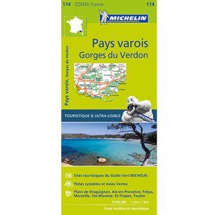 Michelin 114 Pays Varois Gorges Du Verdon