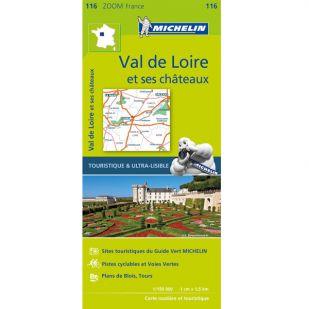 Michelin 116 Val De Loire Et Ses Chateaux