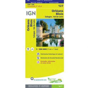 IGN 127 Orleans/Blois
