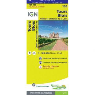 IGN 133 Tours/Blois