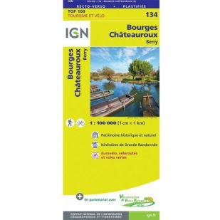 IGN 134 Bourges/Chateauroux