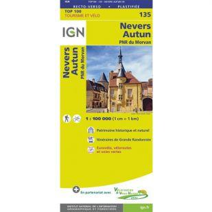 IGN 135 Nevers/Autun