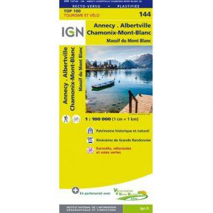 IGN 144 Annecy/Thonon-Les-Bains