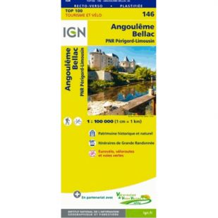 IGN 146 Angouleme/Bellac