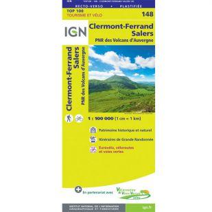 IGN 148 Clermont-Ferrand/Mauriac