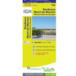 IGN 152 Bordeaux/Mont-De-Marsan