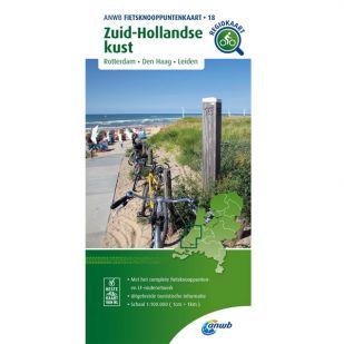 ANWB Fietsknooppuntenkaart 18 Zuid Hollandse kust