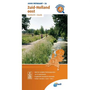 ANWB Regiokaart 26 Zuid-Holland oost - Utrecht zuidwest