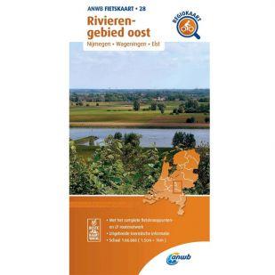 ANWB Regiokaart 28 Rivierengebied oost