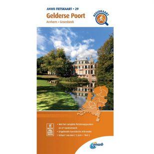 ANWB Regiokaart 29 Gelderse Poort