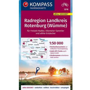 KP3218 Radregion Landkreis Rotenburg (Wümme) 1:50.000