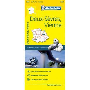 Michelin 322 Deux-Sevres, Vienne
