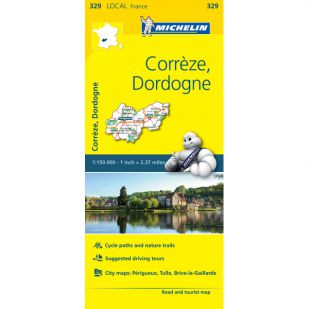 Michelin 329 Correze, Dordogne