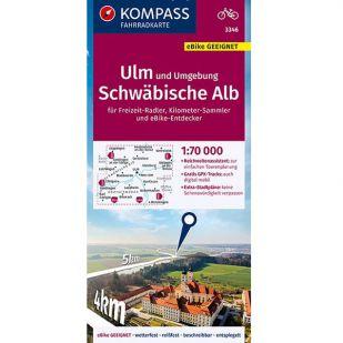 KP3346 Ulm und umgebung - Schwäbische Alb