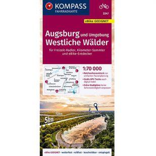 KP3347 Augsburg und umgebung Westliche Wälder