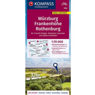 KP3353 Würzburg - Frankenhöhe - Rothenburg
