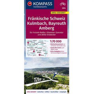 KP3354 Fränkische Schweiz - Kulmbach - Bayreuth - Amberg
