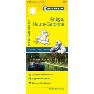 Michelin 343 Ariege Haute Garonne