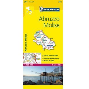 Michelin 361 Abruzzo, Molise