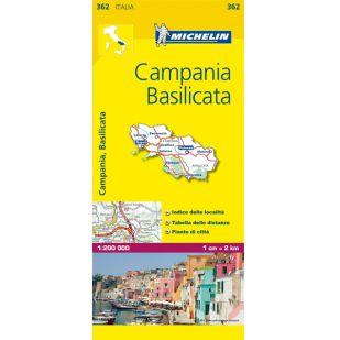 Michelin 362 Campania, Basilicata