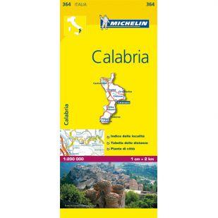 Michelin 364 Calabria