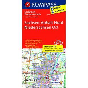 KP3705 Radkarte Sachsen-Anhalt Nord – Niedersachsen Ost