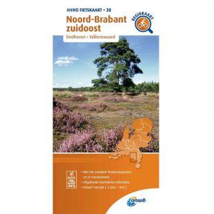 ANWB Regiokaart 38 Noord-Brabant zuidoost