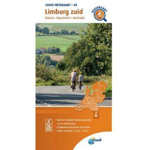 ANWB Regiokaart 40 Limburg zuid