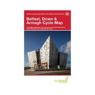 49. Belfast, Down & Armagh Pocket Cycle Map