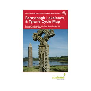 50. The Fermanagh Lakelands Pocket Cycle Map