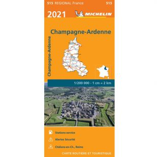 Michelin 515 Champagne Ardenne 2021