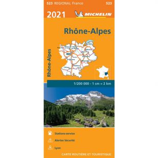 Michelin 523 Rhone-Alpes 2021
