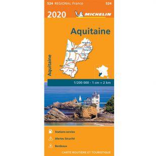 Michelin 524 Aquitaine 2020