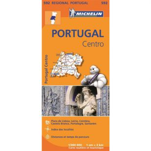Michelin 592 Portugal Centre