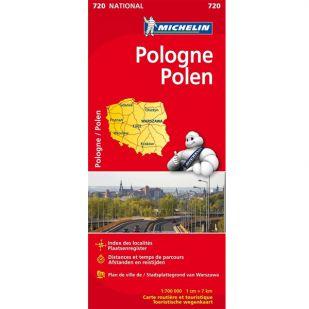 Michelin 720 Pologne - Polen