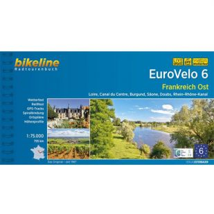 A - Eurovelo 6 Frankreich Ost Bikeline Fietsgids