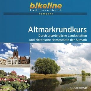 Altmarkrundkurs Bikeline Kompakt fietsgids (2021)