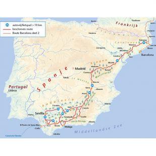 Fietsen naar Andalusië
