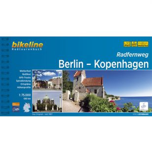 Berlin-Kopenhagen Radfernweg Bikeline Fietsgids !