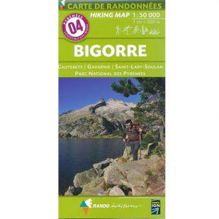 Pyrénées Carte no.4: Bigorre