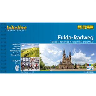 Fulda Radweg Bikeline Fietsgids