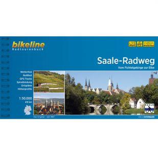 Saale Radweg Bikeline Fietsgids