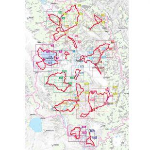 Radregion Umbrien Bikeline Fietsgids