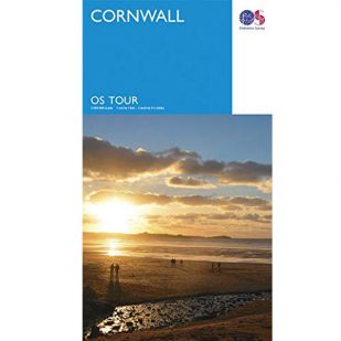 Cornwall OS Tour Map