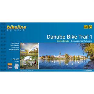 Danube Biketrail 1 Bikeline Fietsgids