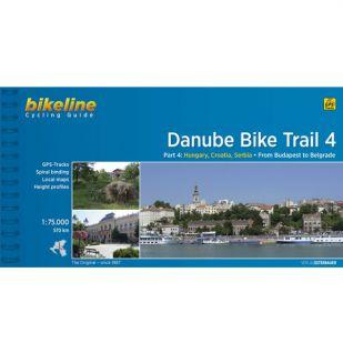 Danube Bike Trail 4 Budapest to Belgrade  Bikeline Fietsgids