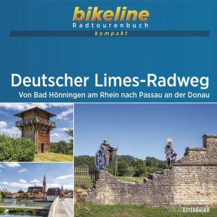 Deutscher Limes-Radweg Bikeline Kompakt fietsgids (2021)