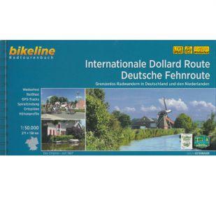 Internationale Dollard route + Deutsche Fehnroute Bikeline Fietsgids !